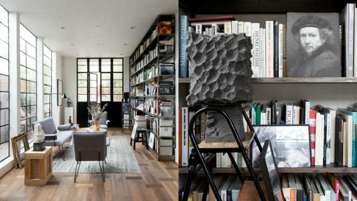 Casa-Venice-biblioteca