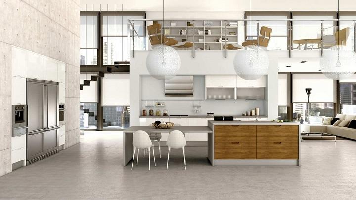 cocina-blanca-madera-foto