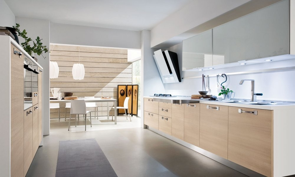 Decorablog revista de decoraci n for Cocina blanca y madera