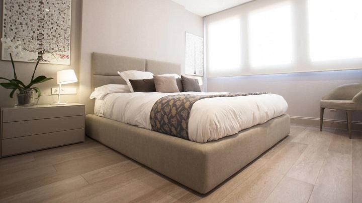 5 colores recomendables para pintar las paredes del - Pintar pared dormitorio ...
