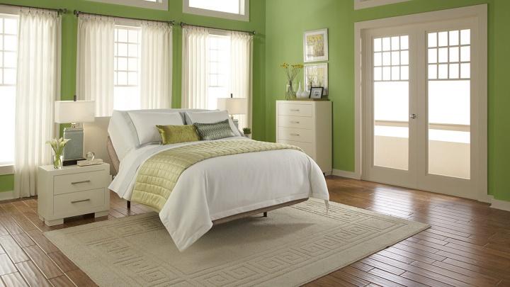 5 colores recomendables para pintar las paredes del - Dormitorio verde ...
