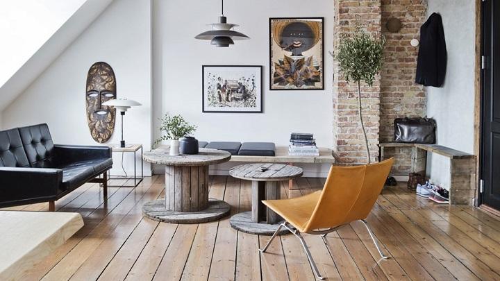 Ideas y consejos para una decoraci n n rdica industrial for Decoracion tipo industrial
