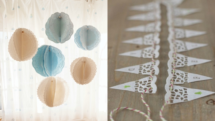 Ideas para decorar con blondas de papel - Manteles originales ...