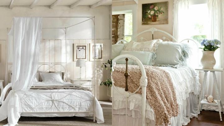 Cama-dormitorio-vintage