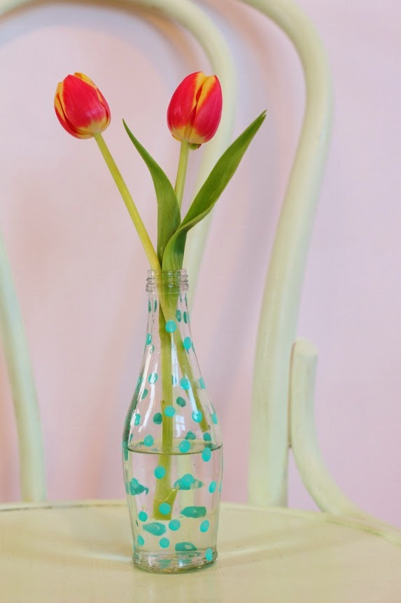 Ideas Para Decorar Un Florero De Cristal