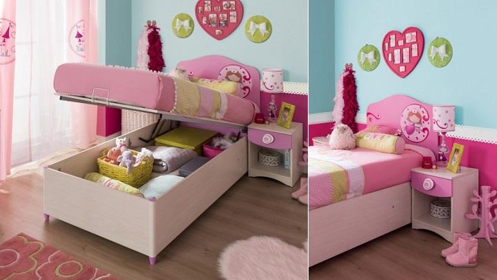Camas infantiles y juveniles para ahorrar espacio for Imagenes de camas infantiles