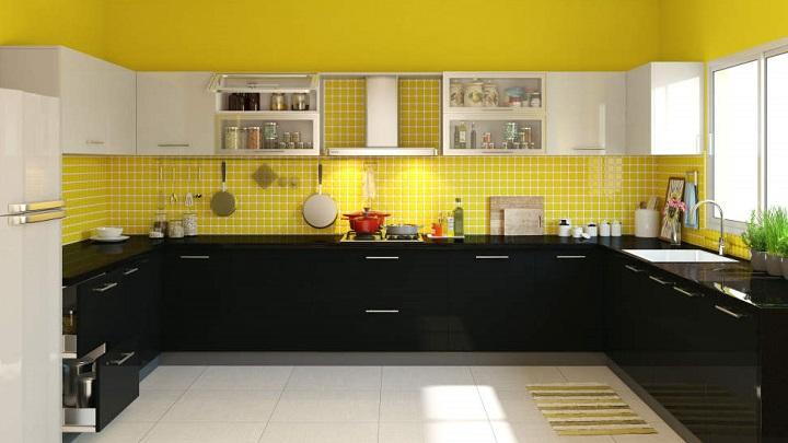 5 colores recomendables para pintar las paredes de la cocina - Paredes de cocinas modernas ...