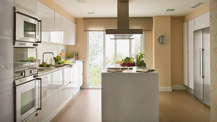 5 colores recomendables para pintar las paredes de la cocina - Colores para paredes 2017 ...