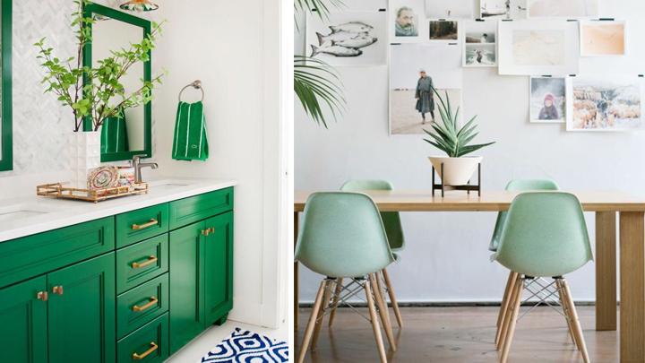 Consejos y trucos para decorar con verde - Trucos para decorar ...
