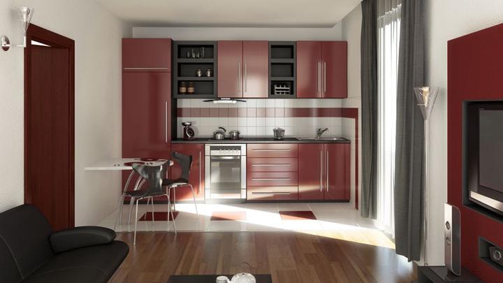 Una cocina abierta al comedor y al sal n en una casa peque a - Cocinas abiertas al salon comedor ...