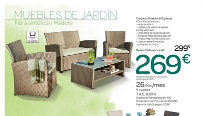 Carrefour cat logo terraza y jard n 2017 for Jardin carrefour 2017