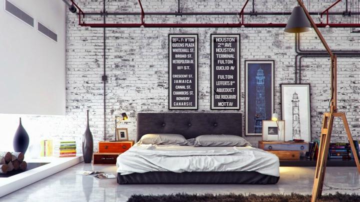 Dormitorio-industrial-decoracion