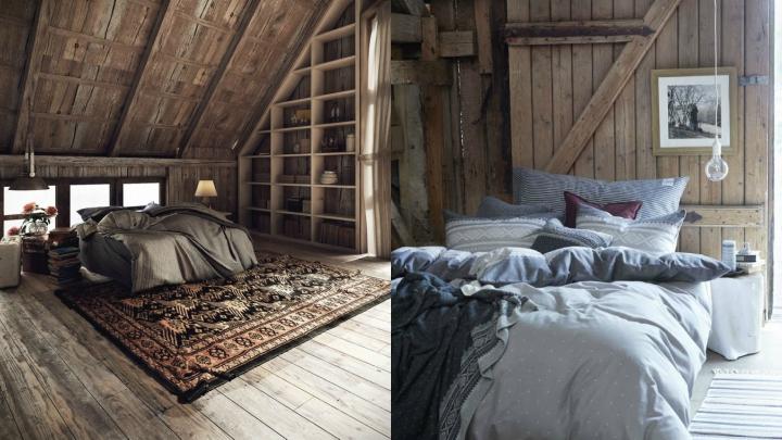 Dormitorio-rustico-madera