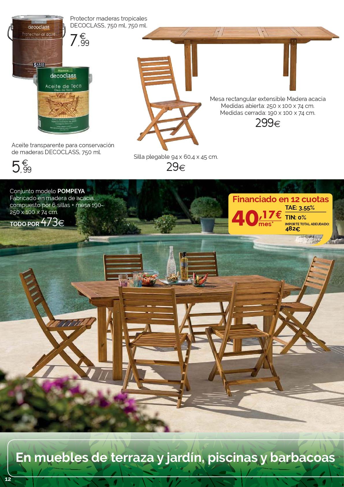 Hermoso Hipercor Muebles De Jardin Behome Info Todo Sobre El  # Muebles Hipercor