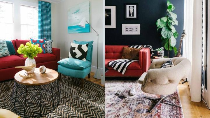 Sofa-color-rojo