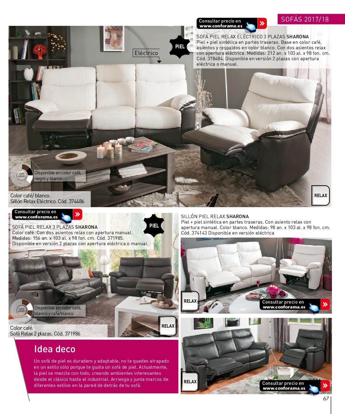 Sofas dos plazas conforama latest cool stunning sofa - Conforama sofas cheslong ...