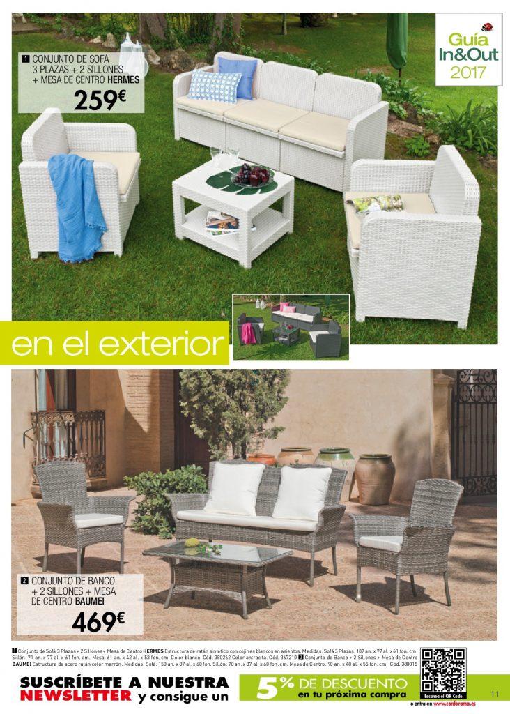 Conforama jardin11 for Conforama muebles de jardin