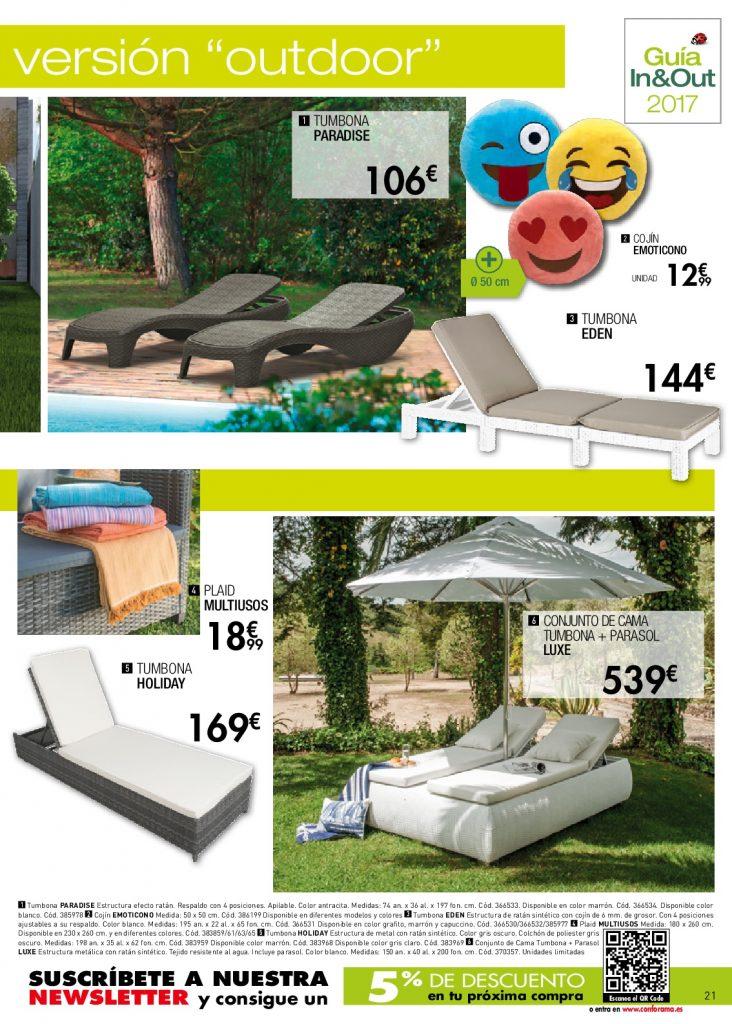 Conforama jardin21 for Conforama muebles de jardin