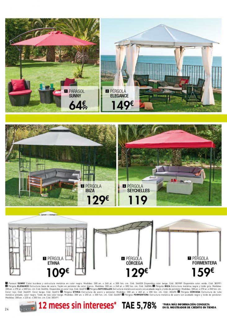 Conforama jardin24 for Conforama muebles de jardin