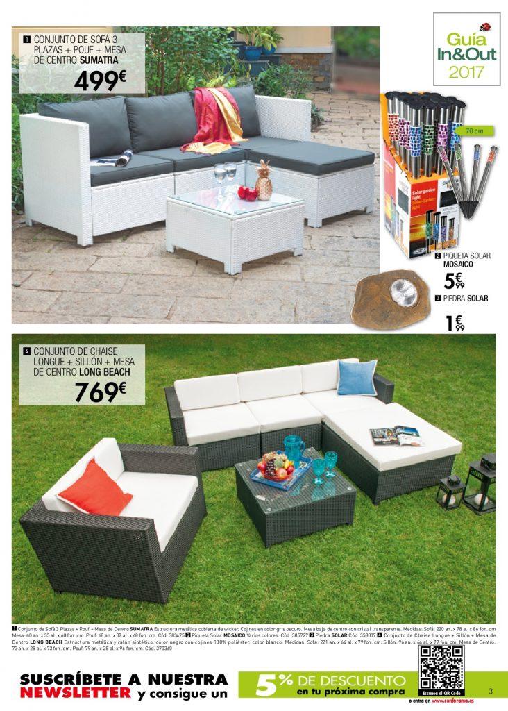 Conforama jardin3 for Conforama muebles de jardin