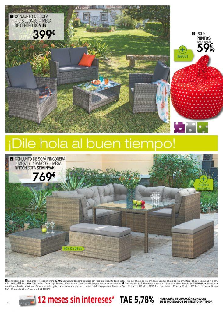 Conforama jardin4 for Conforama muebles de jardin
