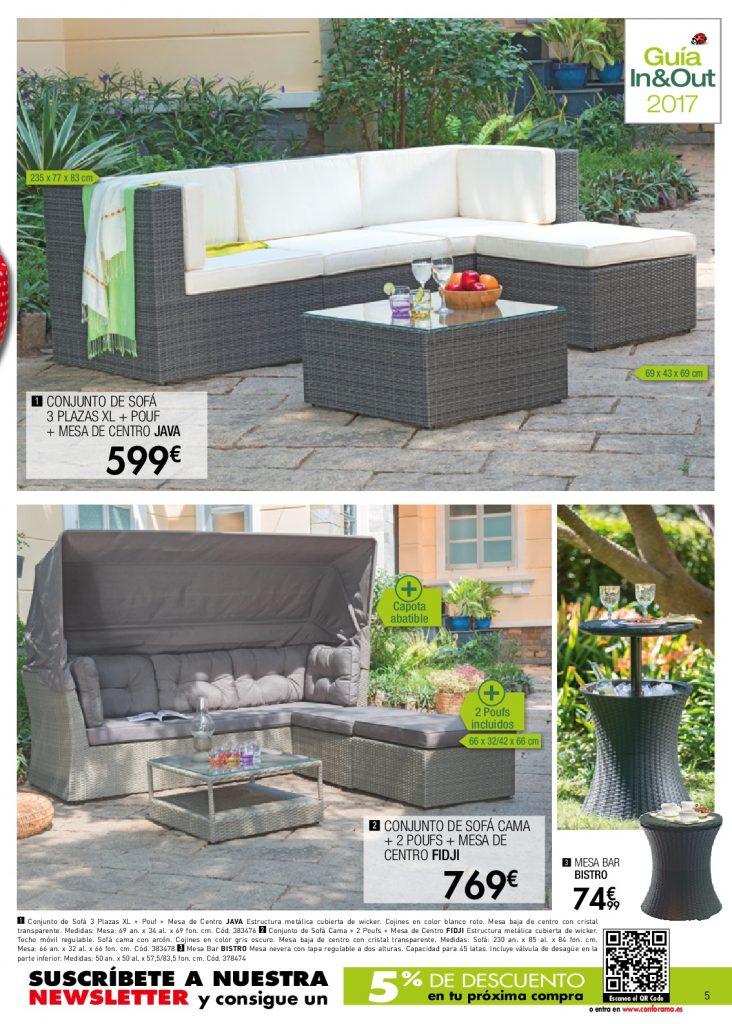 Conforama jardin5 for Conforama muebles de jardin