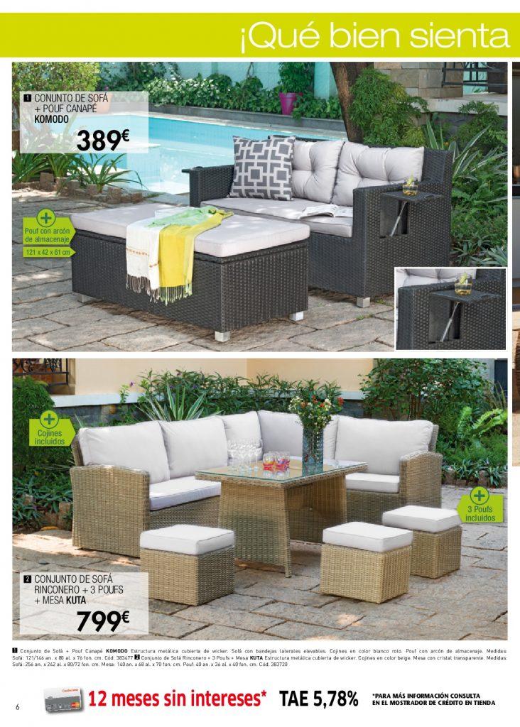 Tumbonas conforama catalogo muebles de conforama muebles for Conjuntos de jardin conforama