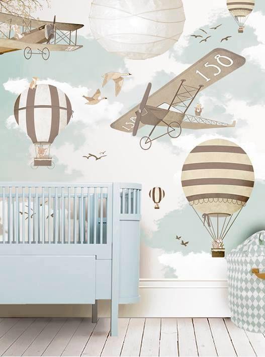 Papel pintado bebe 3 - Papel habitacion bebe ...