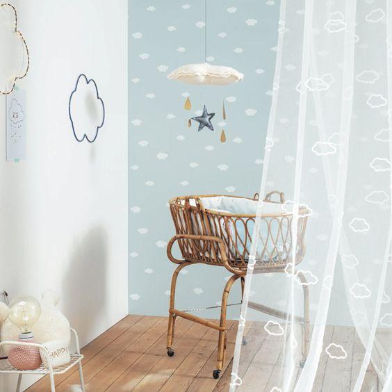 Papel pintado bebe 5 for Papel para habitacion
