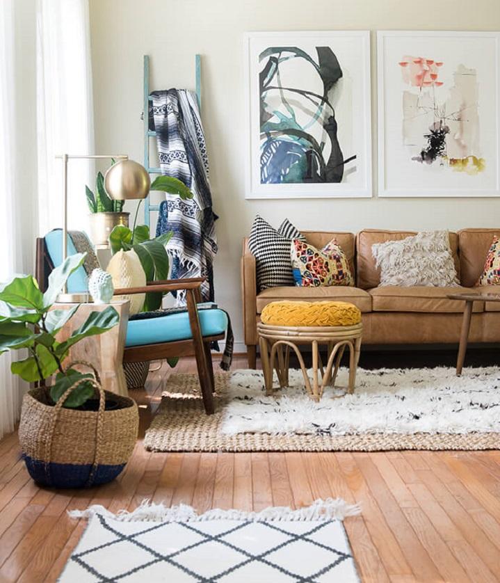 Alfombras superpuestas la ltima moda en decoraci n - Decoracion con alfombras ...