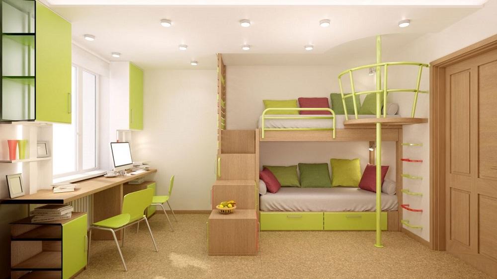 Habitaciones verdes34 - Habitaciones infantiles verdes ...