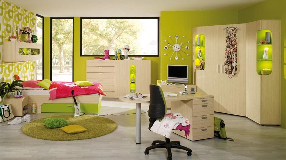 Habitaciones verdes9 - Colores de habitaciones infantiles ...