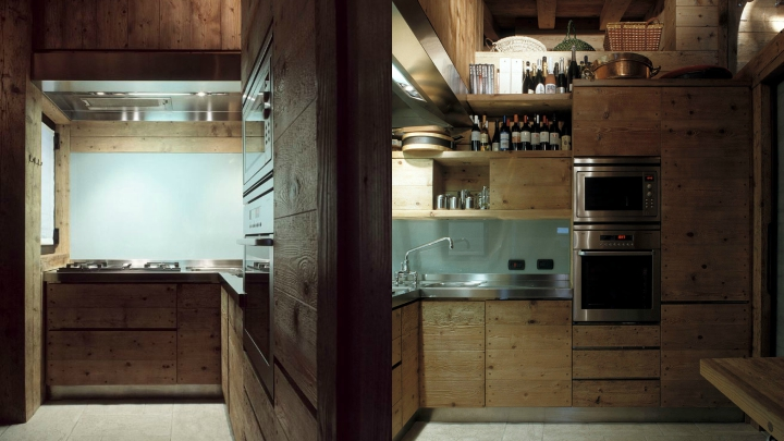 Apartamento-montana-italia-cocina