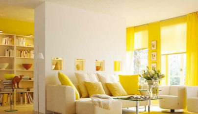 Fotos de salones decorados en amarillo - Imagenes de salones decorados ...