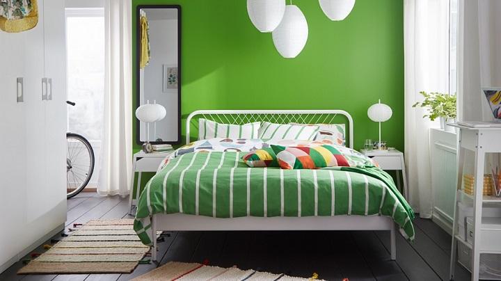 dormitorio-blanco-y-verde-foto