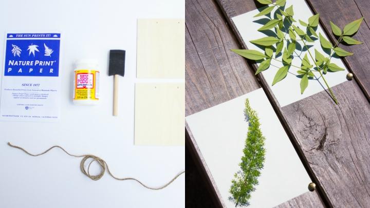 materiales-guirnalda-hojas