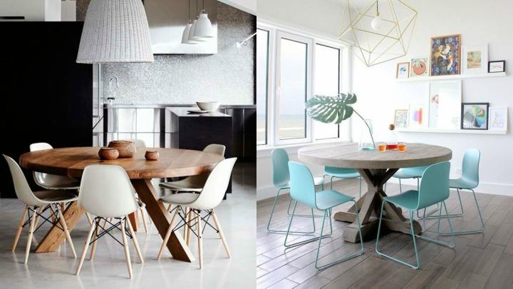 Ideas para cambiar la mesa del comedor - Patas para mesas redondas ...