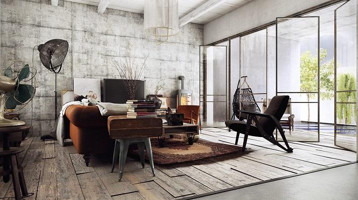 5 formas de decorar las paredes de ambientes industriales
