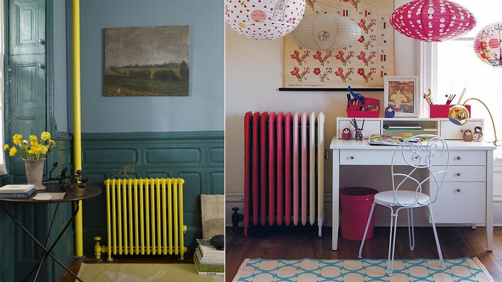 Ideas para disimular el radiador