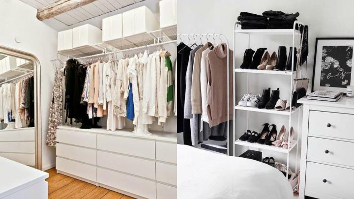 Ideas para hacer un vestidor con poco presupuesto