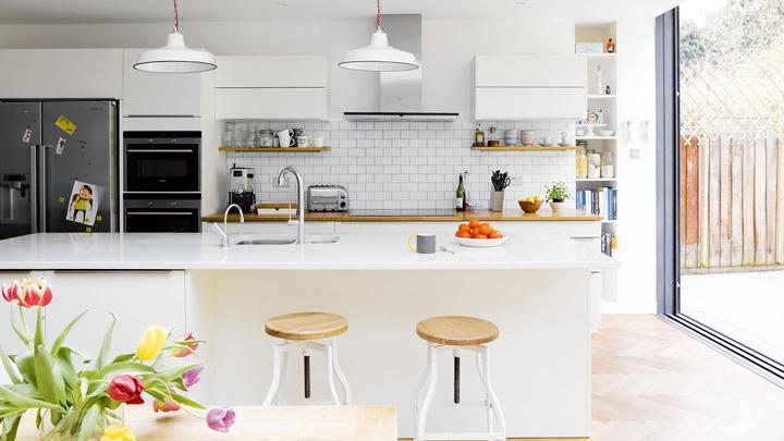 Decorablog revista de decoraci n for Cocina comedor en l