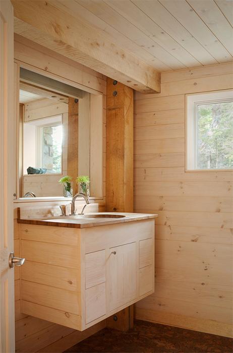 Bano madera3 for Fotos en madera
