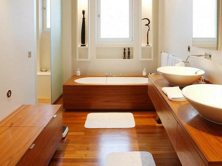 Bano madera5 for Muebles bonitos sl