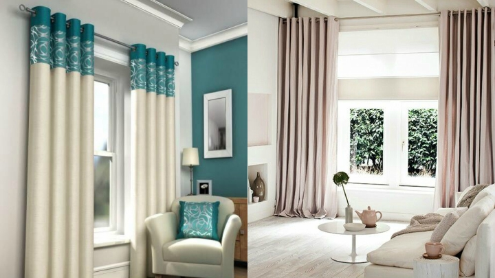 Ideas para colgar las cortinas - Formas de cortinas ...
