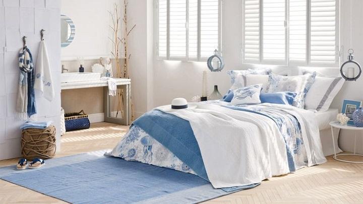 cinco colores para pintar las paredes del dormitorio en verano