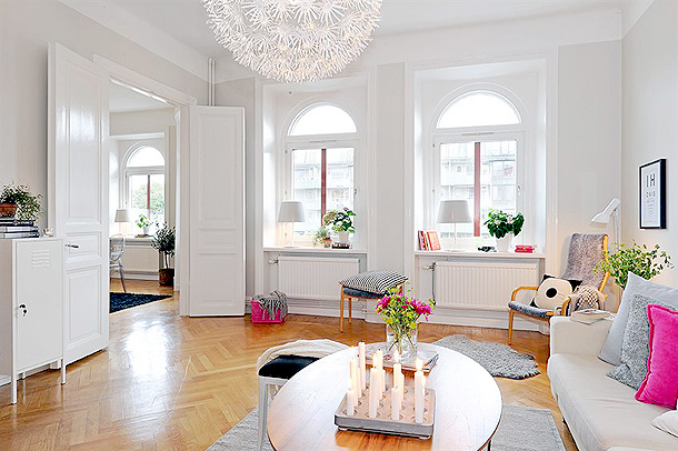 Salon blanco1 - Salones decorados en blanco ...