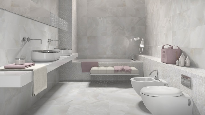 Marble And Stone Bathroom