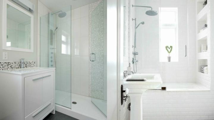 Ideas para ganar espacio en el cuarto de ba o - Cortinas ducha primark ...