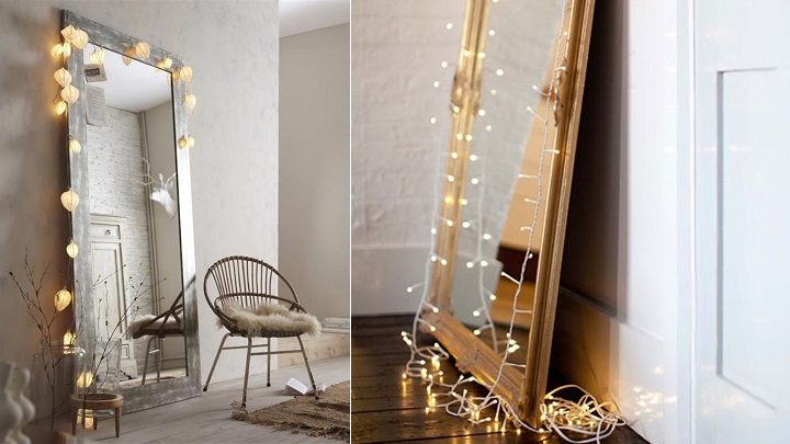 15 ideas creativas para decorar con espejos for Espejos como decorarlos