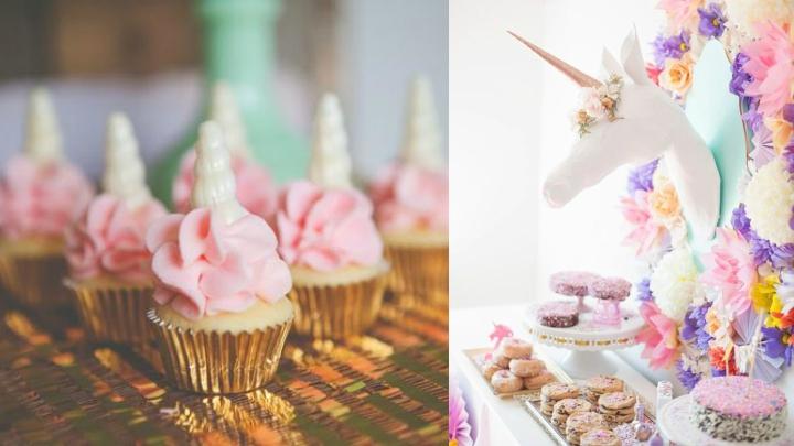 Ideas para decorar con unicornios for Decoracion para pared para cumpleanos